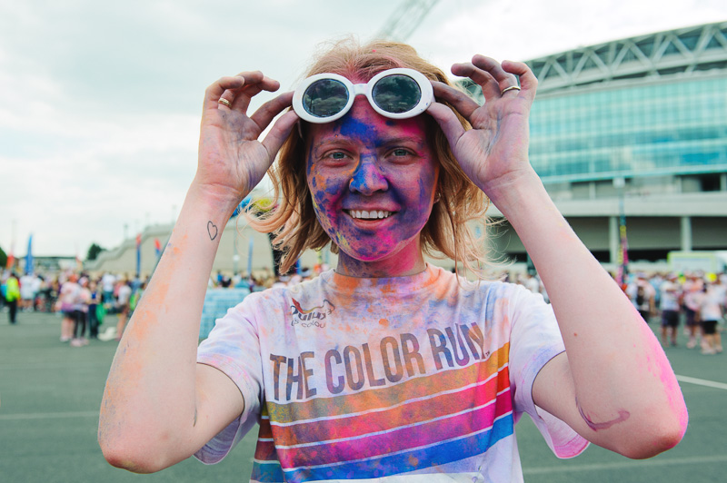 London Color run 2014-12