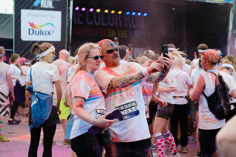 London Color run 2014-17
