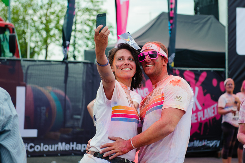 London Color run 2014-18